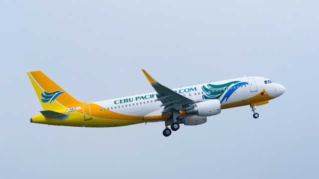 WING TIP. Cebu Pacific's A320 aircraft with a fuel-saving wing tip arrives on January 21. Photo courtesy of Cebu Pacific