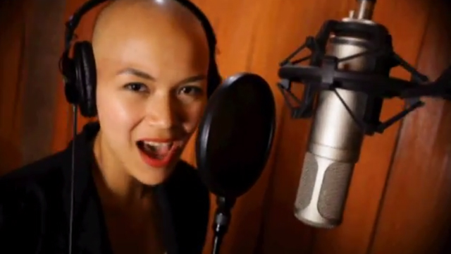 FILIPINO SOUND. Abby Asistio takes part in video. Screengrab from YouTube (FILIPINOSUNITENOW)