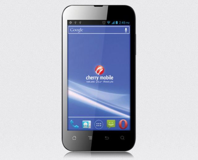 FLARE. The Cherry Mobile Flare is a rebranded phone from India that provides a lot for a low price. Photo from Cherry Mobile.