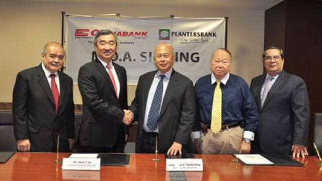 - China bank plantersbank deal 2013Sept18