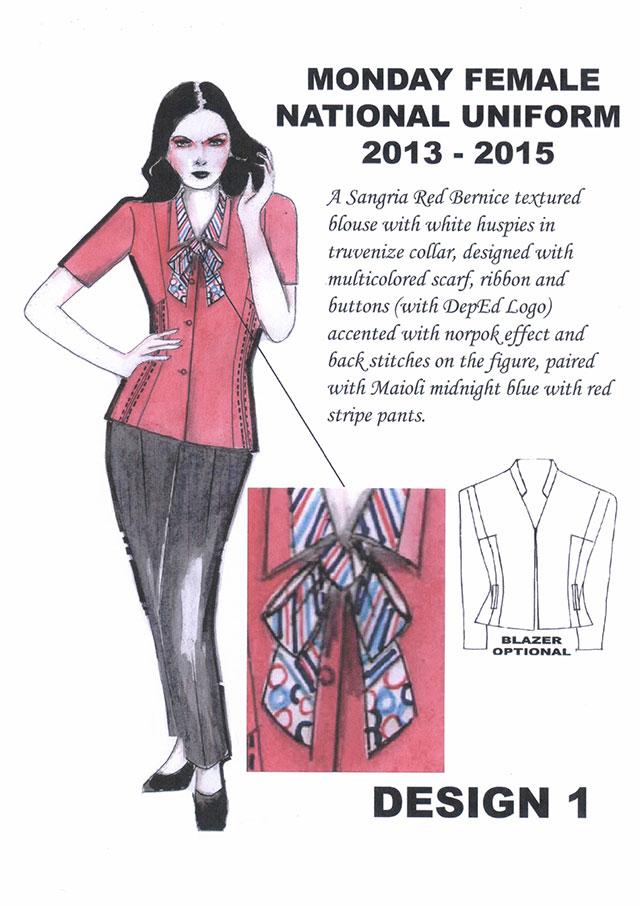 Teacher S Uniform For Sy 2013 2015