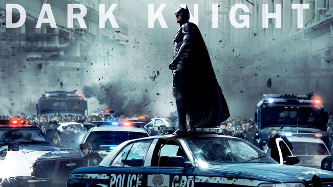 The Dark Knight starring Christian Bale. Photo from The Dark Knight Rises official website.