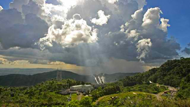 GEOTHERMAL TITAN. This production field is acclaimed as world's largest steam field. Photo from the website of EDC.