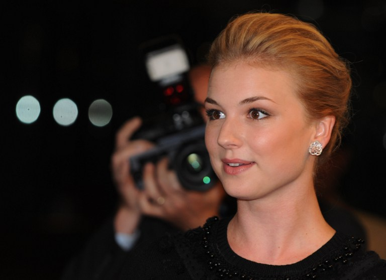 "THE CAPTAIN'S NEW LADY. Actress Emily VanCamp poses on the red carpet at the premiere of the Sony Pictures movie ""Coco Before Chanel"" at the Silver Screen theatre in Los Angeles on September 9, 2009. VanCamp could be the next leading lady in the Captain America sequel. AFP PHOTO/Mark RALSTON"