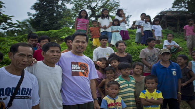 COMMUNITY. Fr Edwin Gariguez lives with the Mangyans of Mindoro. Photo from goldmanprize.org