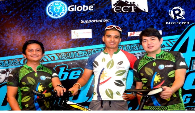 GLOBE CORDILLERA CHALLENGE. Mountain Biking to save the Cordillera Mountains. Photo by Stephen Militante