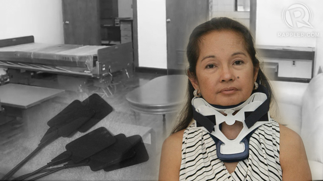 HOSPITAL ARREST. Detained former President Gloria Macapagal-Arroyo may post bail if prosecutors fail to show strong evidence of guilt. Graphics by Analette Abesamis