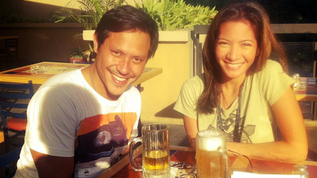 BRIDGING THE DISTANCE. Gianco Cui and Viella Galvez on their first date. Gianco, a Sydney-based teacher, met Viella while he was vacationing in Manila. Photo courtesy of Viella Galvez