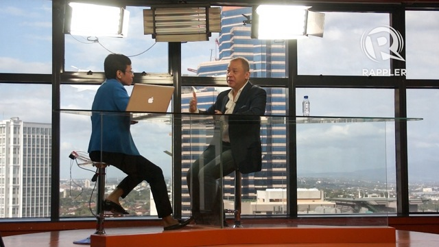 Ernest Cu speaks to Maria Ressa on #TalkThursday