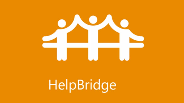 HELPBRIDGE. Microsoft's new app lets you get help or offer help in an emergency. Screen shot from YouTube video.