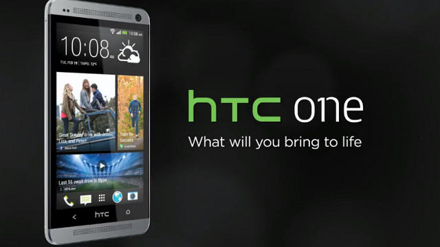 THE ONE. HTC announces the HTC One for a March release. Screen shot from YouTube.