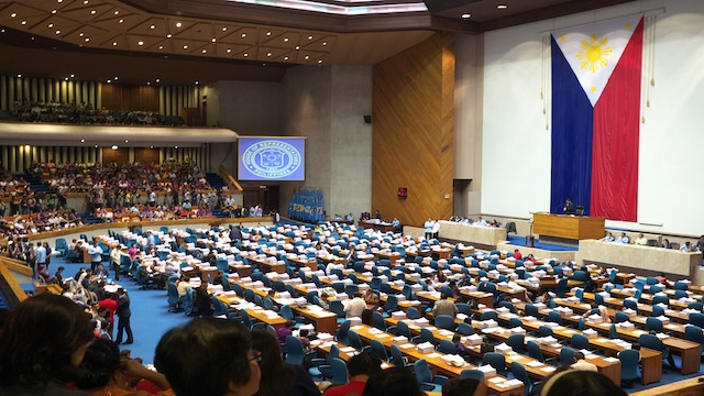 Historic vote. The House of Representatives approves the RH Bill on 2nd reading. Photo by Egay G. Aguilar