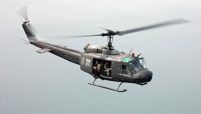 PREFERRED CHOPPER: Air Force pilots are most familiar with the Hueye. PAF photo