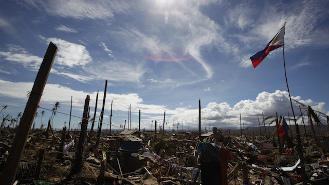 PABLO'S WRATH. A village in Davao Oriental after Typhoon Pablo. Photo by John Javellana