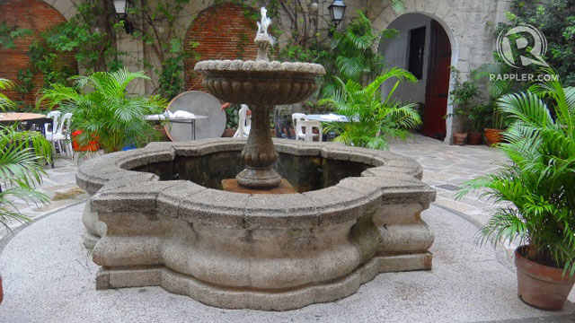 OLD-WORLD ROMANTIC. Fountain at Plaza de San Luis Complex