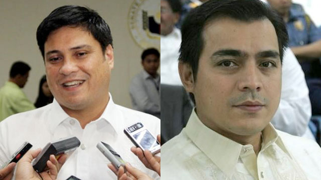 PMP MEMBERS. Resigned Sen Juan Miguel Zubiri and Manila Vice Mayor Isko Moreno are joining former President Joseph Estrada's political party.