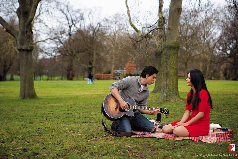 A still photo from the film Jab Tak Hai Jaan ('Till My Last Breat). Photo courtesy of Yash Raj Films Pvt Ltd
