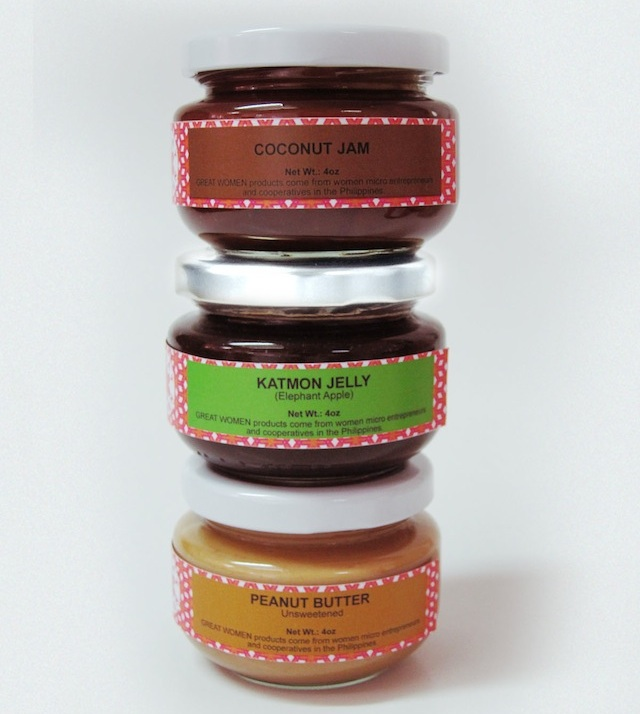 SPREADS. From jams to jellies to peanut butter. Photo from ECHOsi Foundation