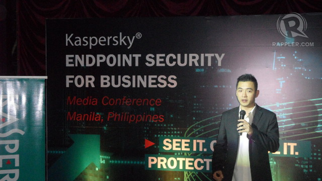 NEW ENDPOINT. Kaspersky's Business Development Manager Bryan Sat discusses the dangers of today's connected world.
