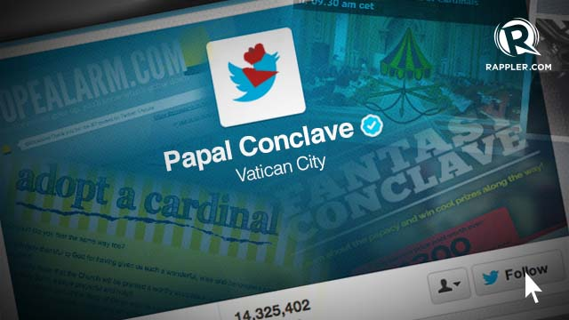 PAPAL PREPARATIONS. Here are some ways to keep tabs on the papal conclave.
