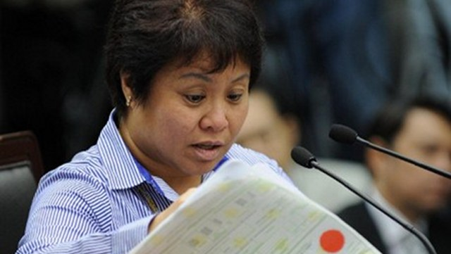Bureau of Internal Revenue Commissioner Kim Henares