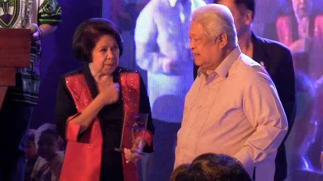 PIONEER: Albay Rep Edcel Lagman honors first lawmaker to file RH bill, former Aurora Rep Bellaflor Angara-Castillo