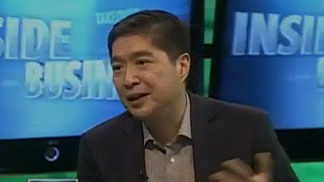 MORE PLAYERS. Second generation businessman Lance Gokongwei talks about growing market pie and increasing competition. Screengrab from ANC interview