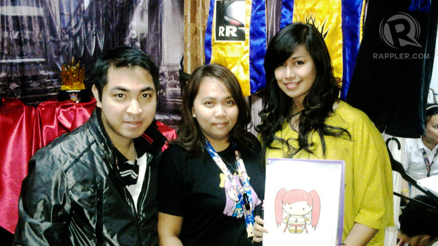 LU CITY. The Team Manila booth features a community of competitive MMO players.