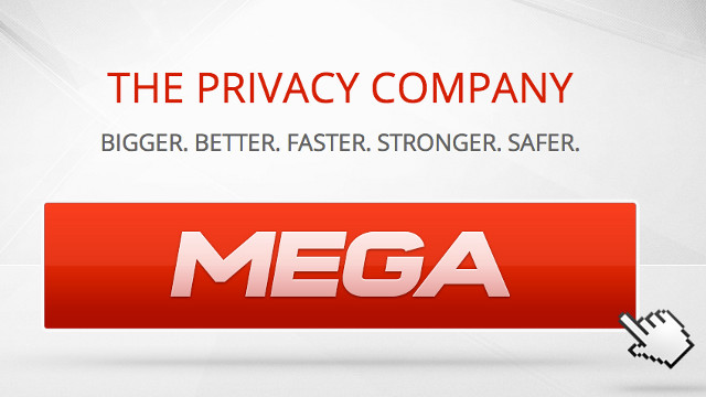 MEGA TEST. Kim Dotcom's made an open call to breach Mega's security for a reward. Screen shot from Mega Website.
