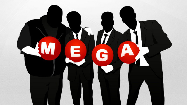 MEGA BOUNTY. Kim Dotcom's new service reveals the results of its first week of bug hunts. Screen shot from Mega website.