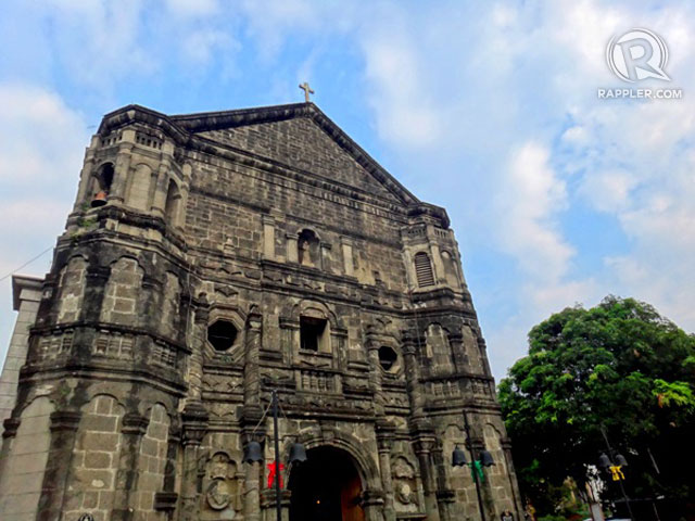 ROMANTIC HISTORY. The centuries-old Malate Church