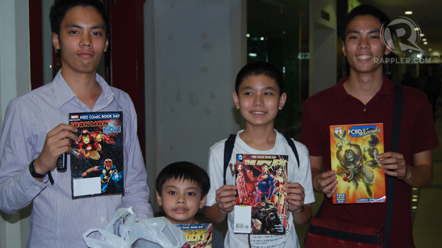 FROM KUYA TO BUNSO. The Yoingco brothers and their free comics. Photo by Jerald Uy