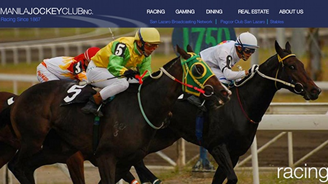 HORSERACING. A new group of investors are betting on Manila Jockey Club. This photo is a screenshot of a page on www.manilajockey.com