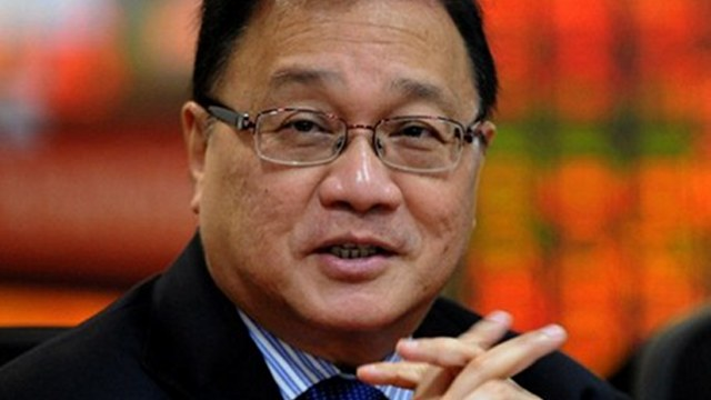 Businessman Manuel V. Pangilinan. Photo by AFP