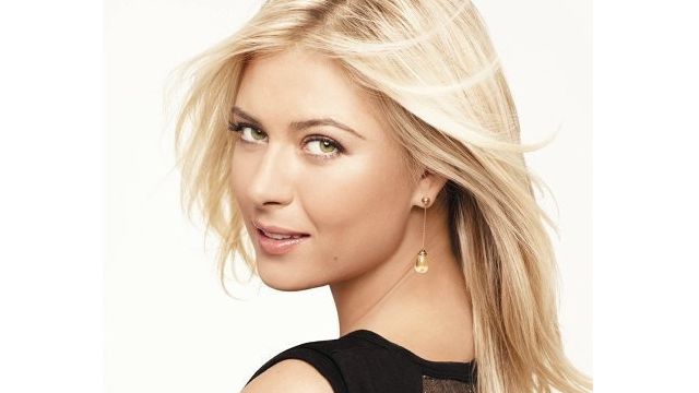 Photo from Sharapova's Facebook page.