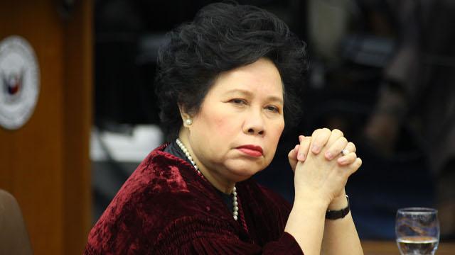 Miriam Defensor Santiago - TheXtraordinary