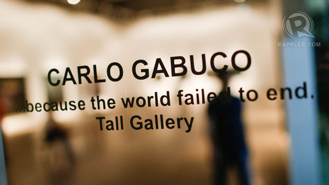 NOT THE END. Opening night of the Gabuco exhibit. Photo by John Javellana