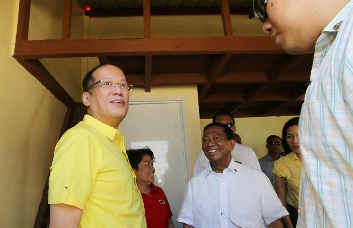 CONSTRUCTIVE OPPOSITION. Vice President Jejomar Binay says his alliance is not against President Aquino. File photo by Malacañang Photo Bureau