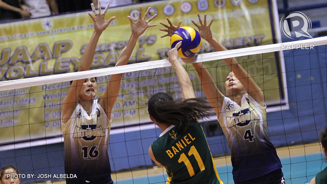 The rest of the Lady Bulldogs are expected to deliver for NU to win. (Photo by Josh Albelda)