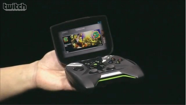 GAMING IN YOUR HANDS. Stream your PC games using a handheld device onto your TV or anywhere else with an HDMI port. Screen shot from press conference livestream.