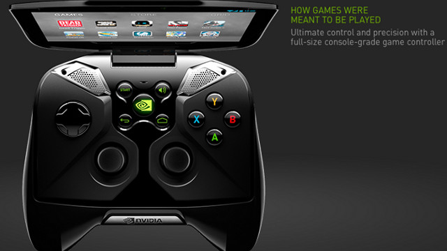 PROJECT SHIELD. NVIDIA's new device could pave the way for cloud gaming to become even more popular. Screen shot from http://shield.nvidia.com/