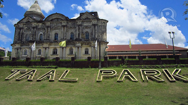 TAAL BASILICA AS SEEN from another side. Photo by Ching Dee