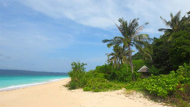 PUKA BEACH, BORACAY. It gets its name from the Puka shells found all over its shore.