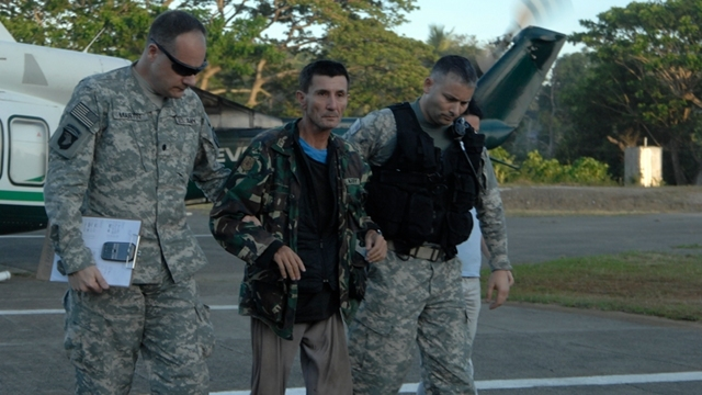 U.S. forces assisted in transporting Rodwell from Pagadian City to Zamboanga City