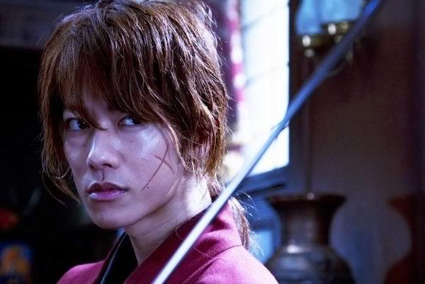 WONDROUS WANDERER. Himura Kenshin in Rurouni Kenshin. Photo from the movie's Facebook page