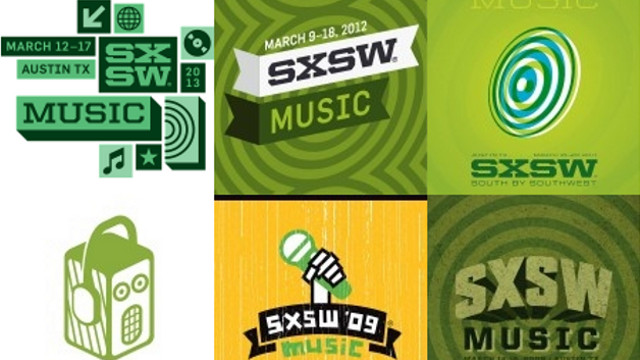 SXSW OFFERINGS. SXSW's music is available for sampling through torrents. Cover art by Danny Novo off SXSW Torrents.