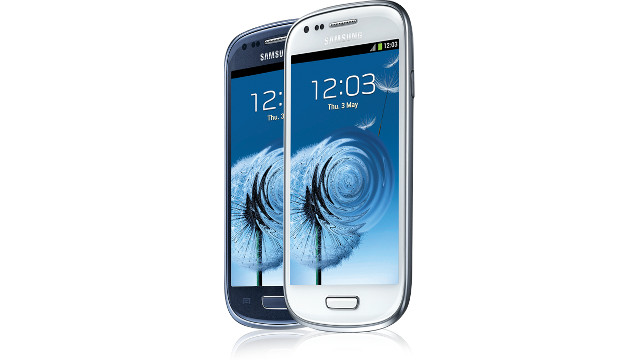 GALAXY SIII MINI. Samsung's new phone will be a limited timed exclusive through Globe.