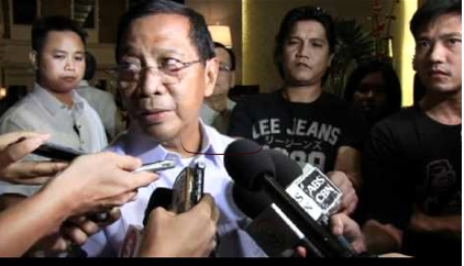 Legal advice. Binay told Aquino the plea bargain deal on the Garcia case is reasonable.