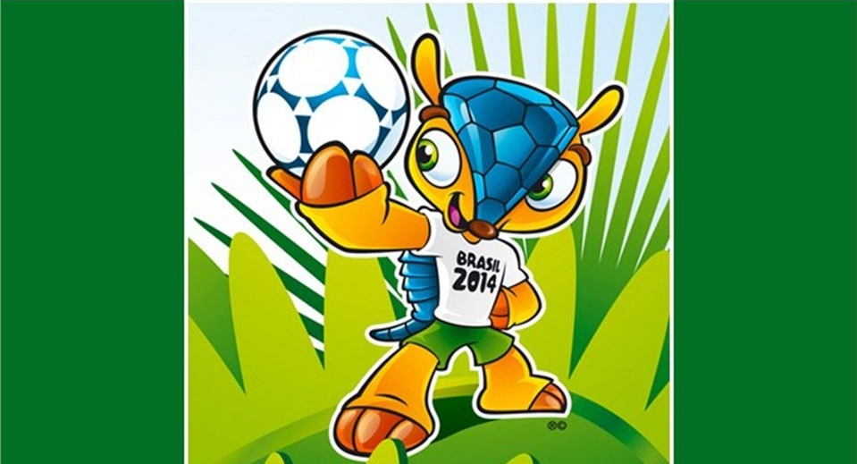 MEET FULECO. A cartoon armadillo chosen as the official mascot for the 2014 football World Cup in Brazil is to be called Fuleco. Photo from FIFA World Cup website.