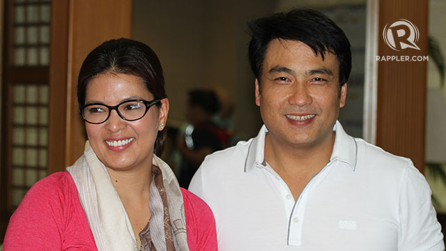 bong revilla back in ph from holy land trip